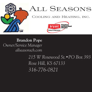 All Seasons Cooling and Heating Inc.